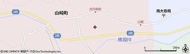 石川県七尾市山崎町(リ)周辺の地図
