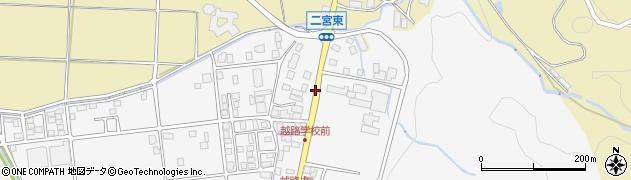 越路小前周辺の地図