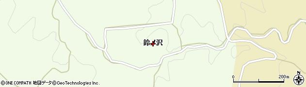 福島県いわき市田人町黒田(鈴ノ沢)周辺の地図