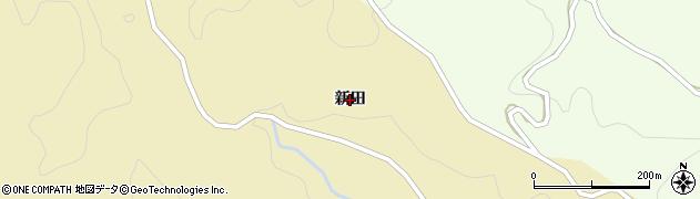 福島県いわき市田人町荷路夫(新田)周辺の地図