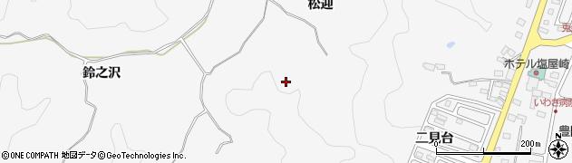 福島県いわき市平豊間(松迎)周辺の地図