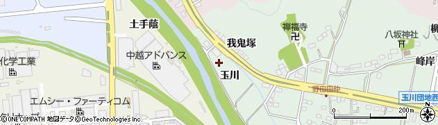 福島県いわき市小名浜野田(玉川)周辺の地図