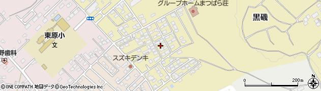 栃木県那須塩原市黒磯周辺の地図