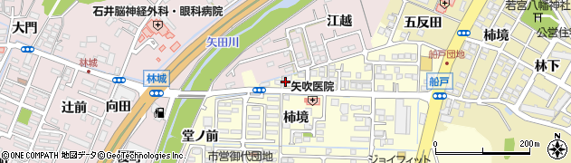 やまざき接骨院周辺の地図