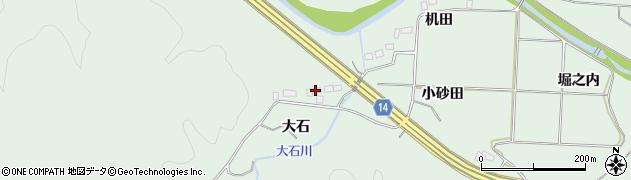 福島県いわき市常磐藤原町(大石)周辺の地図