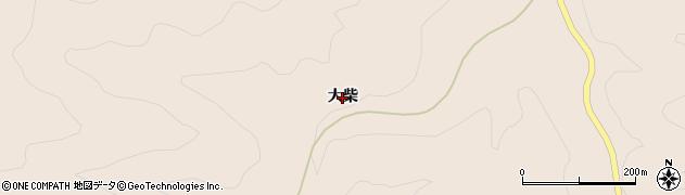 福島県いわき市田人町貝泊(大柴)周辺の地図