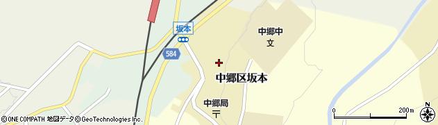 新潟県上越市中郷区坂本周辺の地図