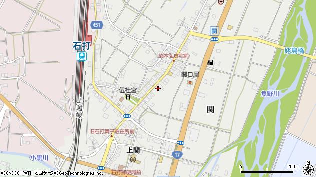 〒949-6371 新潟県南魚沼市関の地図