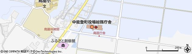 石川県鹿島郡中能登町周辺の地図