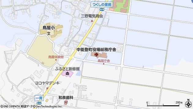 〒929-1700 石川県鹿島郡中能登町(以下に掲載がない場合)の地図