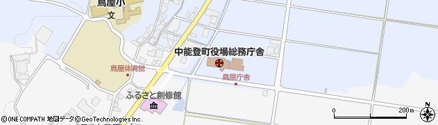 石川県中能登町(鹿島郡)周辺の地図