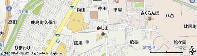 福島県いわき市鹿島町久保(山崎)周辺の地図