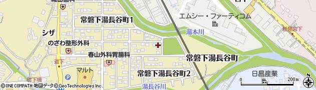 福島県いわき市常磐下湯長谷町(三ケ尻)周辺の地図