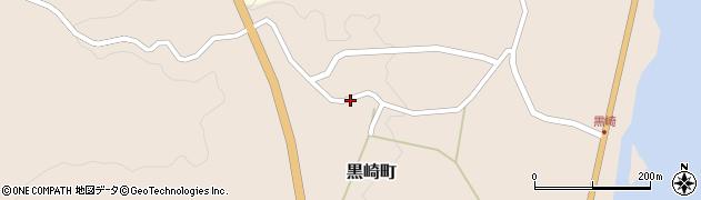 石川県七尾市黒崎町(テ)周辺の地図