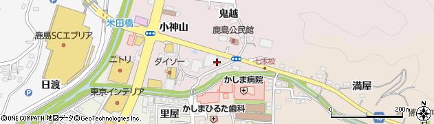 福島県いわき市鹿島町走熊(七本松)周辺の地図