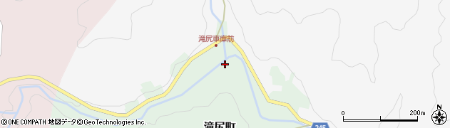 石川県七尾市滝尻町周辺の地図
