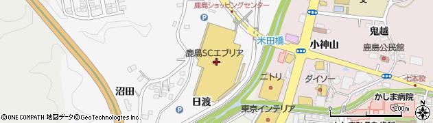 パリヤ エブリア店周辺の地図