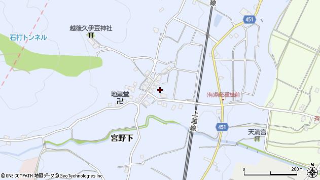 〒949-6365 新潟県南魚沼市宮野下の地図