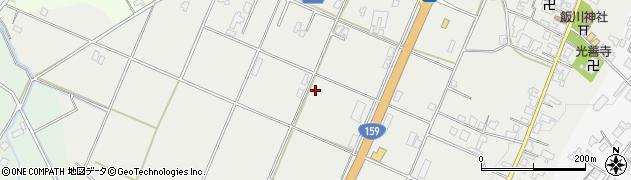 石川県七尾市飯川町(き)周辺の地図