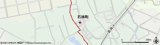 石川県七尾市若林町(チ)周辺の地図
