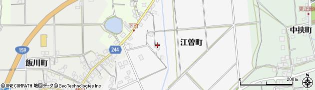石川県七尾市江曽町(ル)周辺の地図