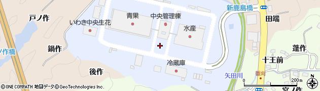 福島県いわき市鹿島町鹿島周辺の地図