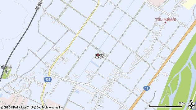 〒949-6366 新潟県南魚沼市君沢の地図