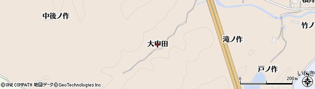 福島県いわき市常磐松久須根町(大申田)周辺の地図
