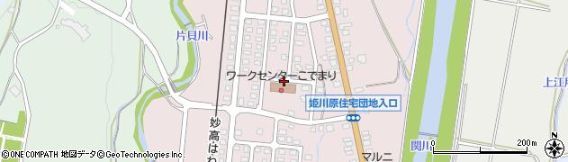 新潟県妙高市姫川原周辺の地図