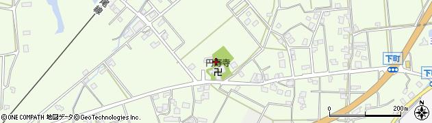 石川県七尾市下町(ク)周辺の地図