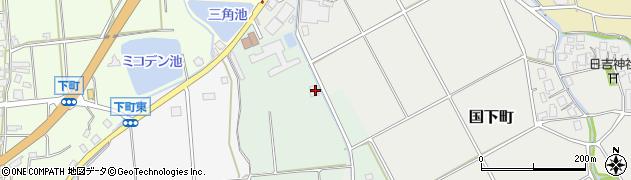 石川県七尾市中挟町(チ)周辺の地図