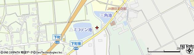 石川県七尾市下町(イ)周辺の地図