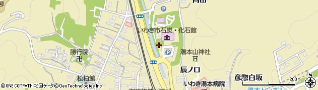 福島県いわき市常磐湯本町(向田)周辺の地図