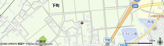 石川県七尾市下町(ソ)周辺の地図