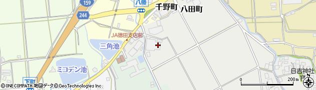石川県七尾市国下町(ト)周辺の地図
