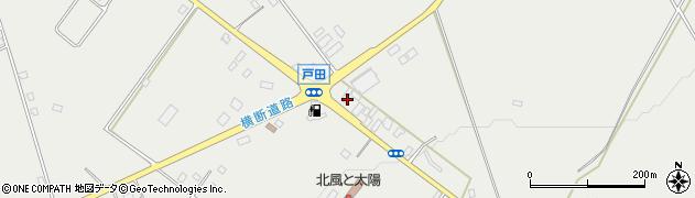 栃木県那須塩原市戸田周辺の地図
