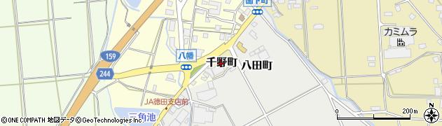石川県七尾市千野町(貞)周辺の地図