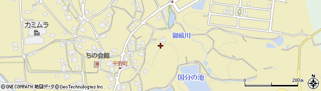 石川県七尾市千野町周辺の地図