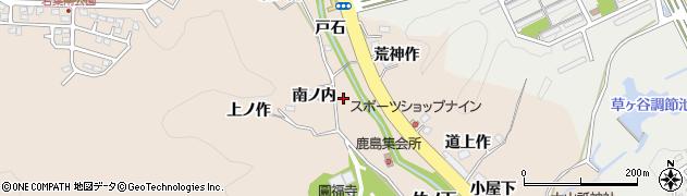 福島県いわき市常磐上矢田町(堰ノ上)周辺の地図