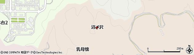 福島県いわき市常磐松久須根町(沼ノ沢)周辺の地図