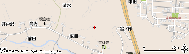 福島県いわき市常磐松久須根町(広畑)周辺の地図
