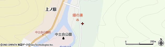 福島県檜枝岐村(南会津郡)上ノ台周辺の地図