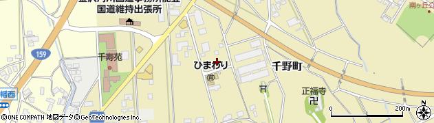 石川県七尾市千野町(は)周辺の地図
