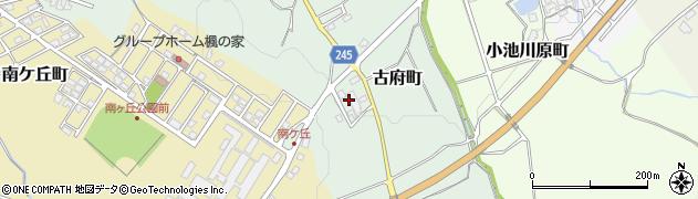 石川県七尾市古府町(ら)周辺の地図