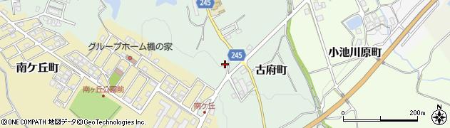 石川県七尾市古府町(赤坂)周辺の地図