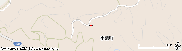 石川県七尾市小栗町(ヨ)周辺の地図