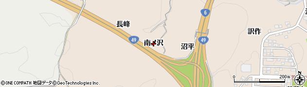 福島県いわき市常磐上矢田町(南ノ沢)周辺の地図