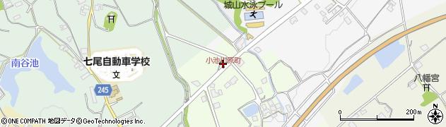 石川県七尾市小池川原町(ヌ)周辺の地図
