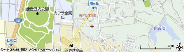 石川県七尾市古府町(イ)周辺の地図