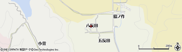 福島県いわき市平鶴ケ井(八反田)周辺の地図